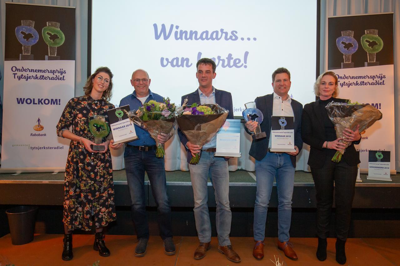 Ondernemersprijs gewonnen